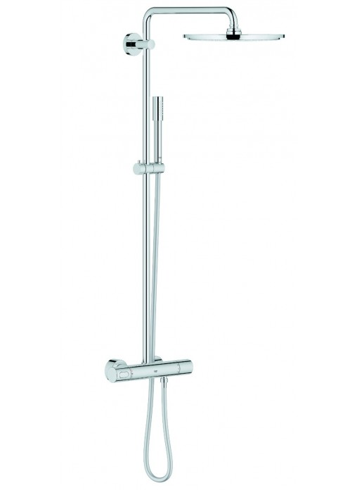 Grohe rainshower 310 douchesysteem met thermostatische for Grohe o hansgrohe diferencias